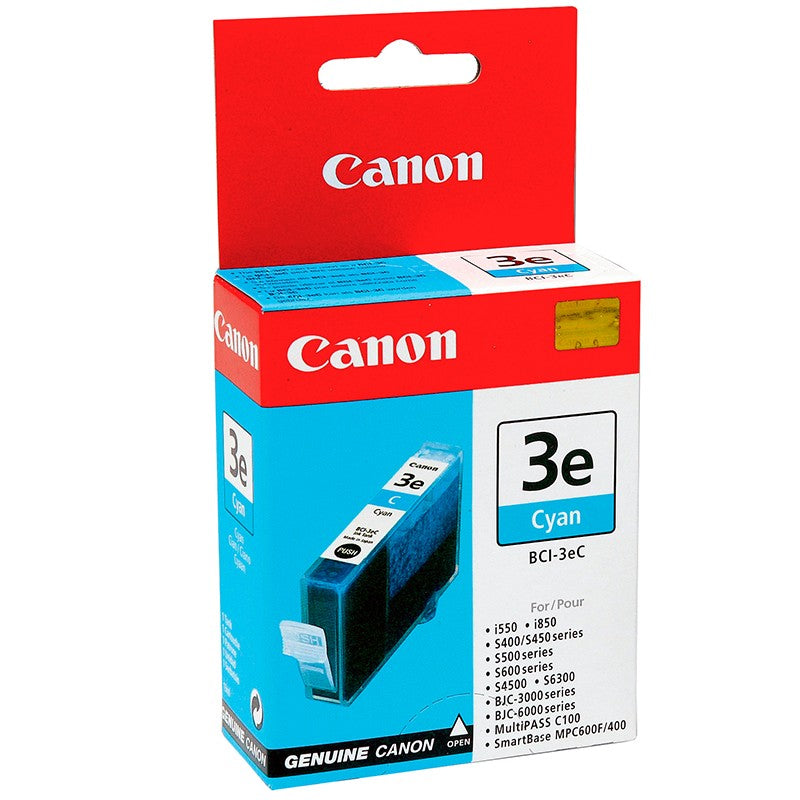 Canon 4480A003 - BCI-3eC OEM Ink Cartridge Cyan - 520 Pages