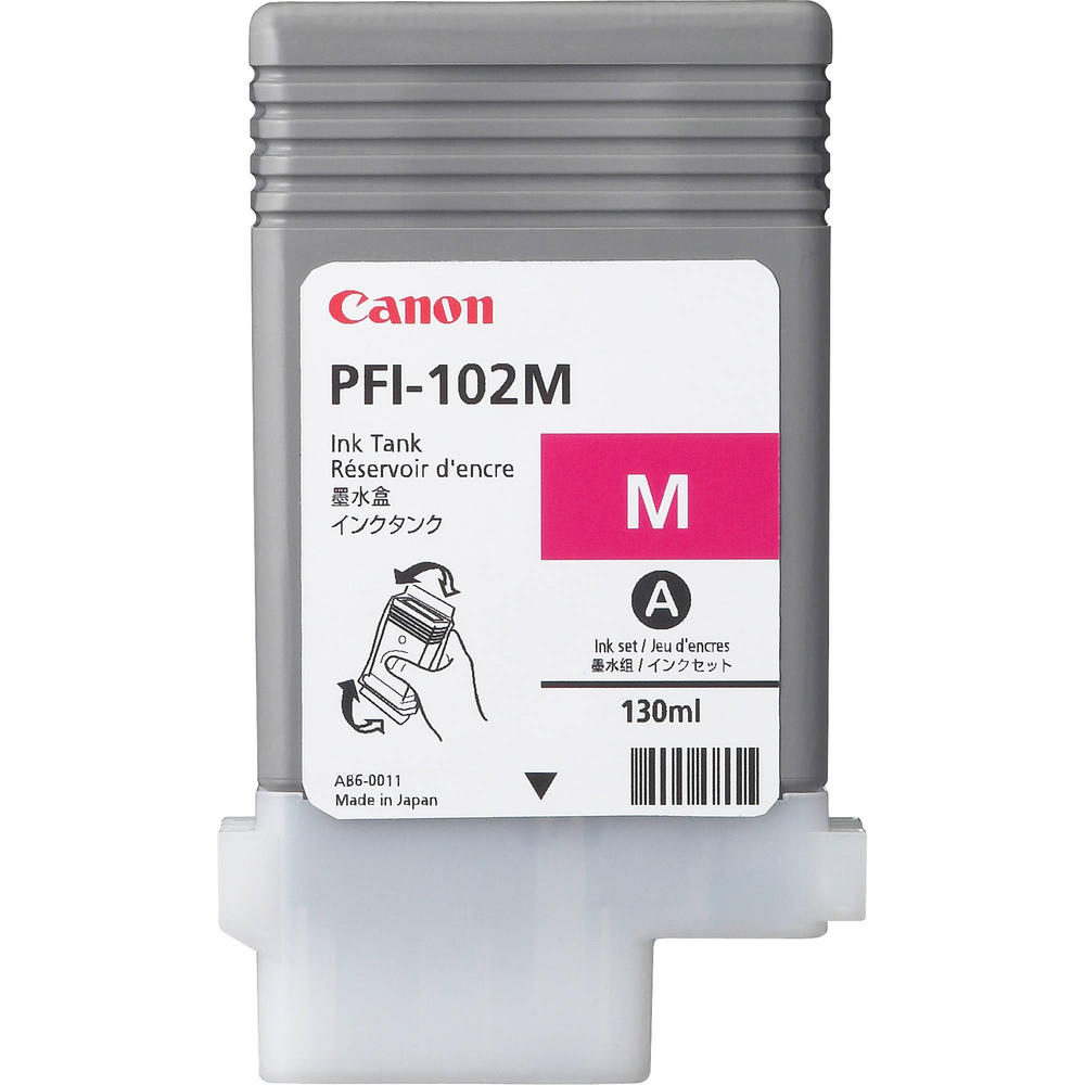 OEM Canon PFI-102M, 0897B001AA Ink Cartridge Magenta