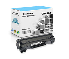 Compatible HP CB436A, 36A Toner Cartridge - Black - 2K