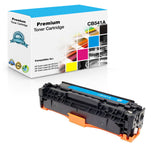 Compatible HP CB541A, 125A Toner Cartridge - Cyan - 1400 Pages