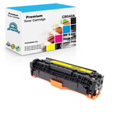 Compatible HP CB542A, 125A Toner Cartridge - Yellow - 1400 Pages