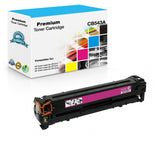 Compatible HP CB543A, 125A Toner Cartridge - Magenta - 1400 Pages