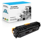 Compatible HP CC530A, 304A Toner Cartridge - Black - 3.5K