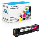 Compatible HP CC533A, 304A Toner Cartridge - Magenta - 2.8K