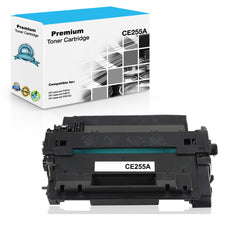 Compatible HP CE255A, 55A Toner Cartridge Black - 6K