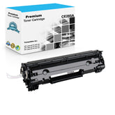 Premium Compatible HP CE285A, 85A Toner Cartridge - Black - 1.6K