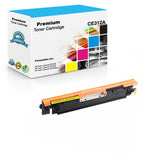 Compatible HP CE312A, 126A Toner Cartridge - Yellow - 1K