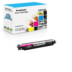 Compatible HP CE313A, 126A Toner Cartridge - Magenta - 1K