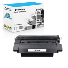 Compatible HP CE390A, 90A Toner Cartridge For LaserJet Enterprise 600 M601 Black - 10K