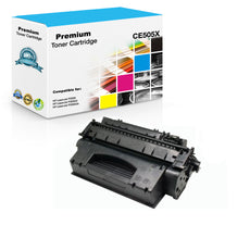 Compatible HP CE505X, 05X Toner Cartridge For LaserJet P2055 Black - 6.5K