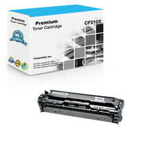 Compatible HP CF210X, 131X Toner Cartridge - Black - 2.4K