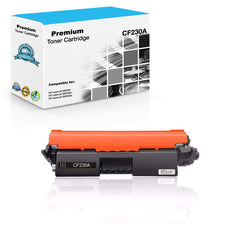 Compatible HP CF230A, 30A Toner Cartridge - Black - 1.6K (With Chip)