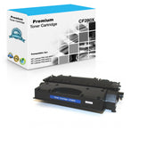 Compatible HP CF280X, 80X Toner Cartridge For LaserJet Pro M401, M425 - Black - 6.9K
