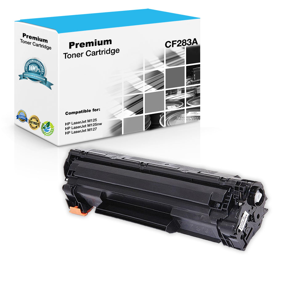 Compatible HP CF283A, 83A Toner Cartridge For LaserJet Pro MFP M125, M225 -  Black - 1 5K