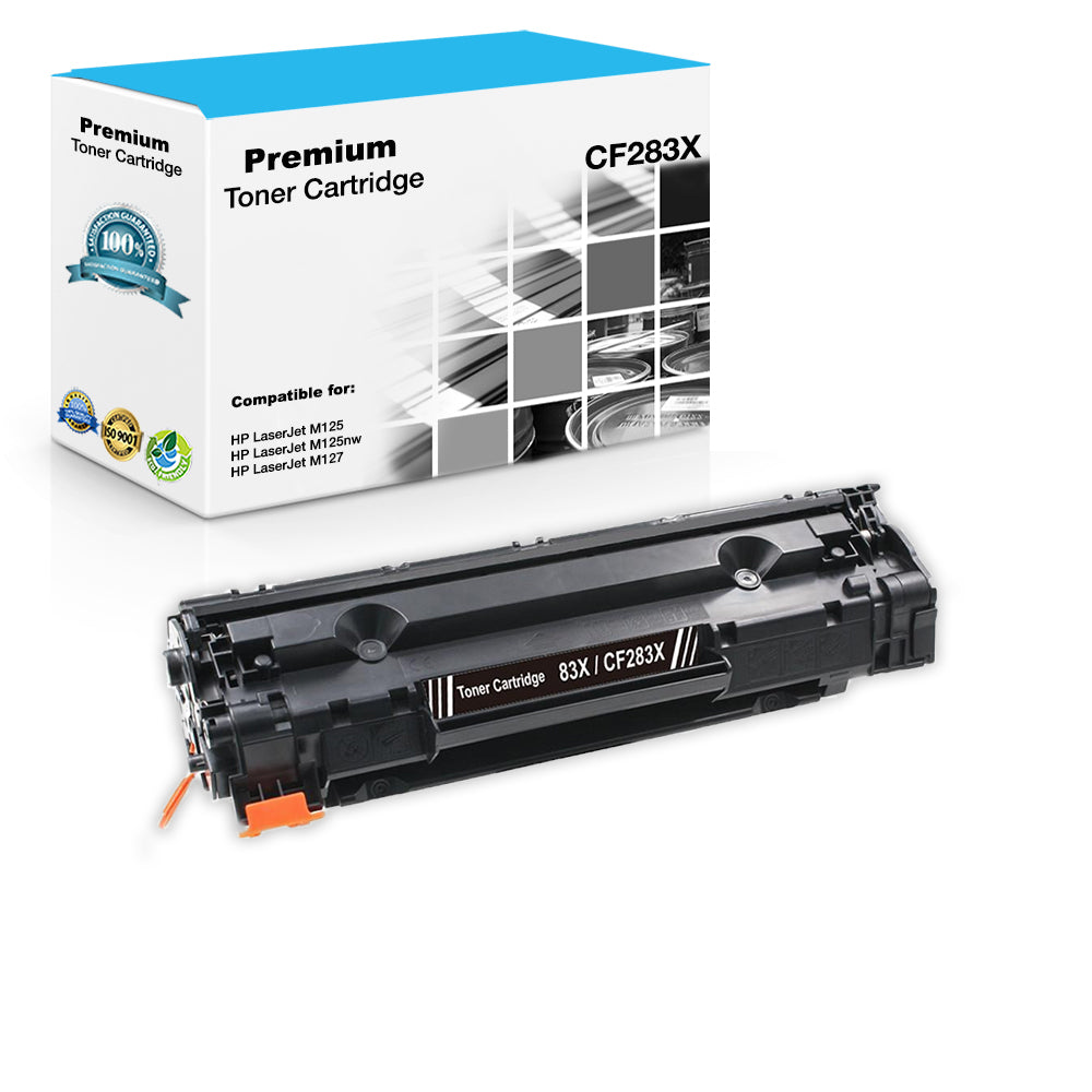 LxTek Compatible Toner Cartridge Replacement for HP 83X CF283X 83A ...