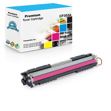 Compatible HP CF353A, 130A Toner Cartridge - Magenta - 1K