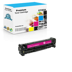 Compatible HP CF383A, 312A Toner Cartridge For Color LaserJet Pro M476 Magenta - 2.7K