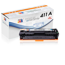 StarInk Compatible HP CF411A, 410A Toner Cartridge Cyan - 2.3K