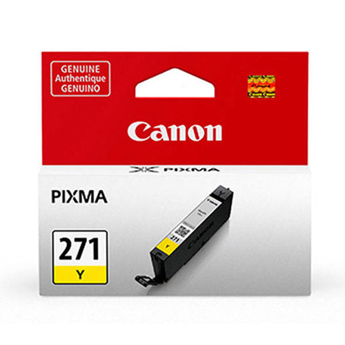 OEM Canon 0393C001, CLI-271 Yellow Ink Cartridge