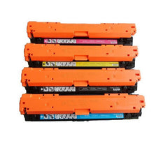 Compatible HP 307A Toner Cartridges for CE740A, CE741A, CE742A, CE743A - Value Pack
