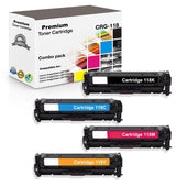 Combo Set Canon 118 Toner Cartridge Compatible with 2659B001, 2660B001, 2661B001, 2662B001