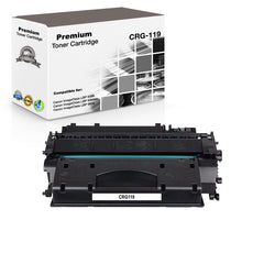 Compatible Canon 119, CRG-119, 3479B001 Toner Cartridge For imageCLASS LBP6300dn Black - 2.1K