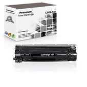 Premium Compatible Canon 137, CRG-137, 9435B001 Toner Cartridge For imageClass MF212w Black - 2.4K