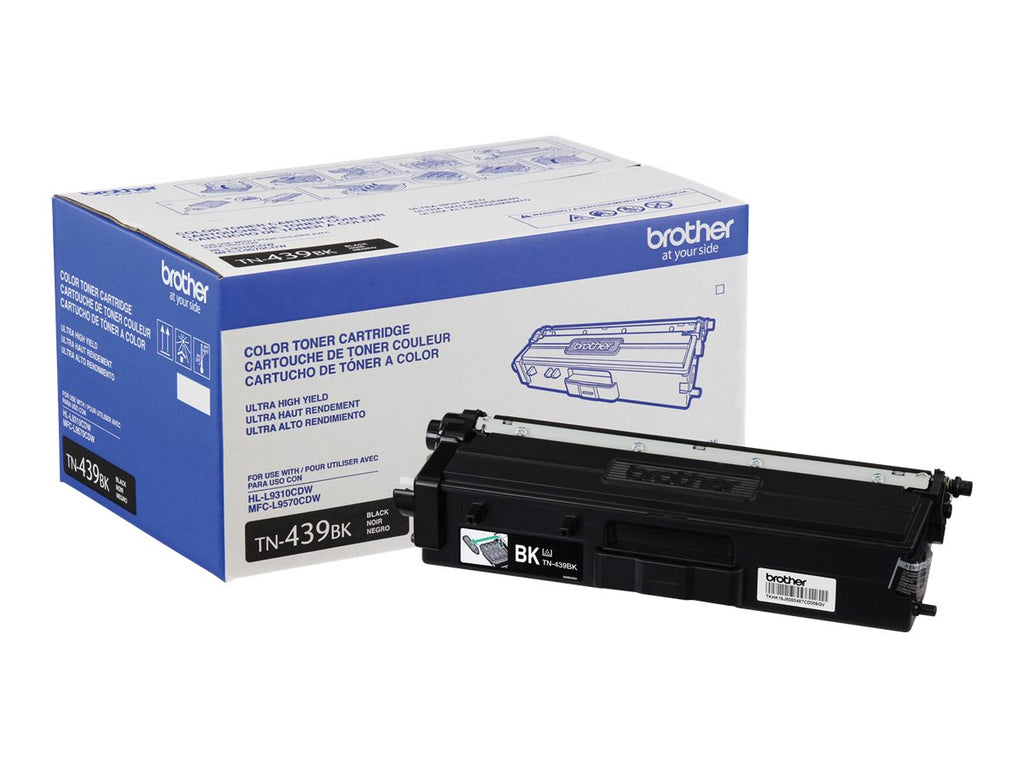 Original Brother TN439BK Toner Cartridge - Black - Ultra High Yield - 9000 Pages