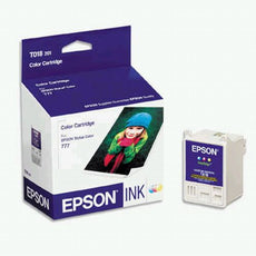 Epson T018201, T018 OEM Ink Cartridge For Stylus Color 777 Tri-Color - 300