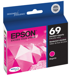 OEM Epson T069320, 69 Ink Cartridge - Magenta - 350 Pages