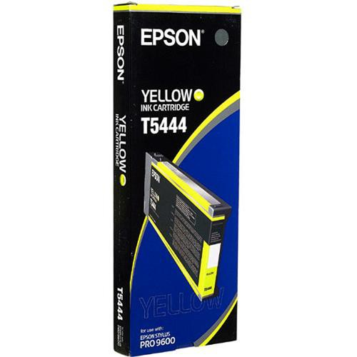 Epson T544400, T5444 OEM Ink Cartridge For Stylus Pro 4000 Yellow - 7.6K