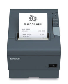 Epson TM-T88V Monochrome Direct Thermal Printer - USB, Serial Interfaces (Dark Gray)