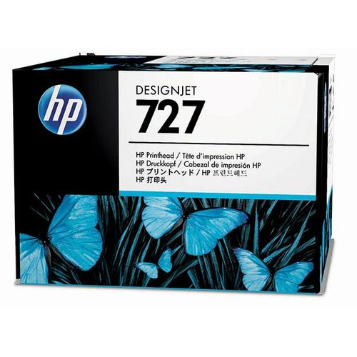 Original HP 727, B3P06A DesignJet Printhead Cartridges - Multi Color