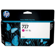 OEM HP 727, B3P20A DesignJet Ink Cartridge - Magenta - 130ml