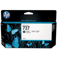 OEM HP 727, B3P22A Ink Cartridge - Matte Black - 130ml