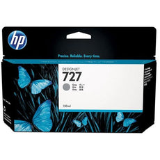 OEM HP 727, B3P24A DesignJet Ink Cartridge - Gray - 130ml