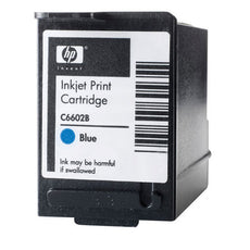 Original HP C6602B Thermal Ink Cartridge - Blue - 7M Characters