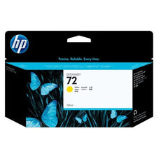 OEM HP 72, C9373A DesignJet Ink Cartridge - Yellow - 130ml