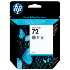 Original HP 72, C9401A DesignJet Ink Cartridge - Gray - 69ml