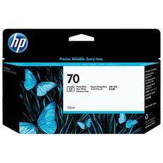 Original HP 70, C9449A DesignJet Ink Cartridge - Photo Black - 130ml