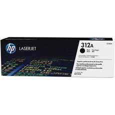OEM HP CF380A, 312A LaserJet Toner Cartridge - Black - 2.4K