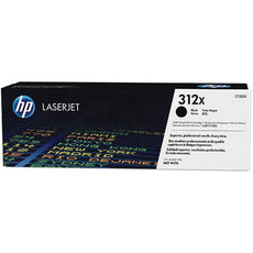 OEM HP CF380X, 312X Toner Cartridge - Black - 4,400 Yield