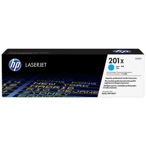 OEM HP 201X, CF401X LaserJet Toner Cartridge Cyan - 2300 Pages
