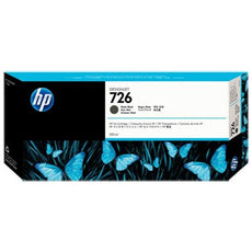 Original HP 726, CH575A Inkjet Ink Cartridge - Matte Black - 300ml