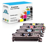 Compatible HP 121A Toner Cartridges for C9700A, C9701A, C9702A, C9703A - Value Pack