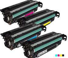 Compatible HP 508A Toner Cartridges for CF360A, CF361A, CF362A, CF363A - Value Pack