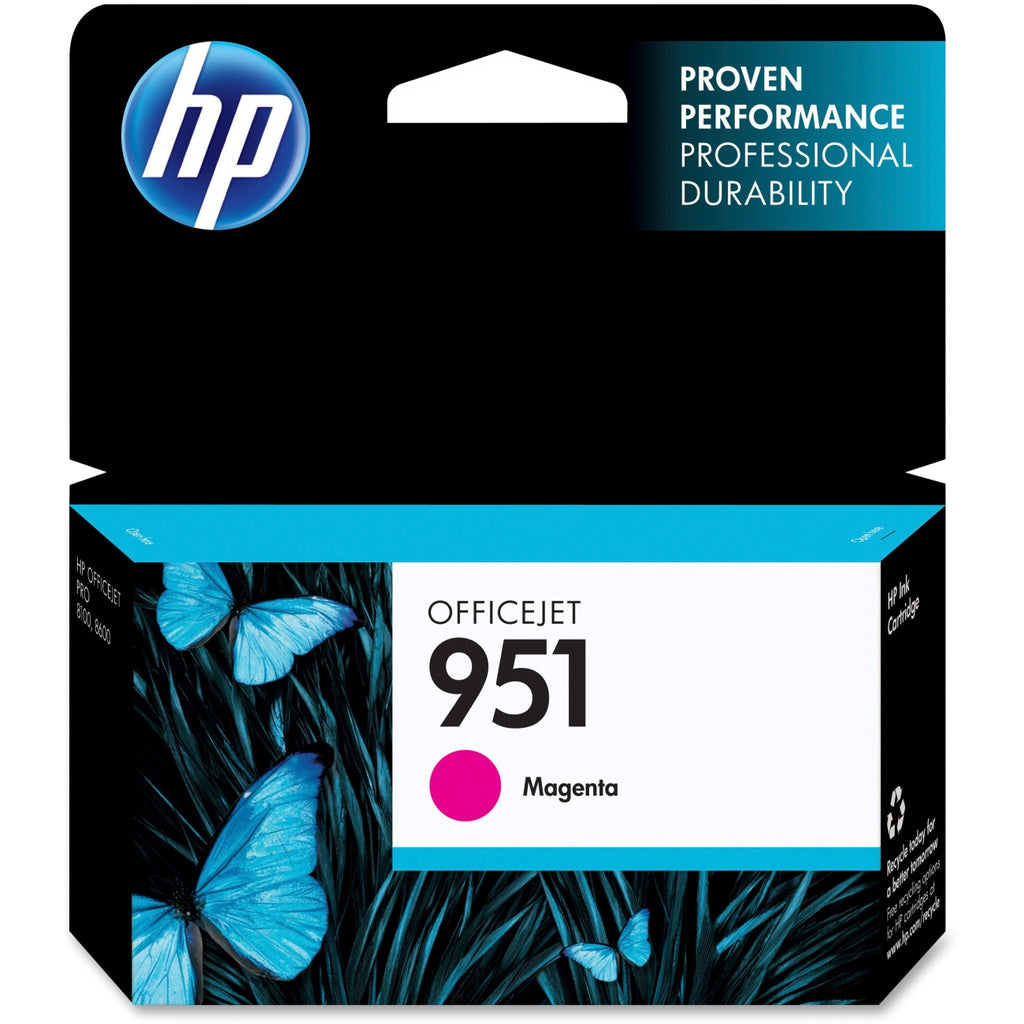 Original HP 951, CN051AN Standard Yield Ink Cartridge - Magenta - 700 Pages