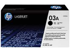 OEM HP C3903A, 03A Toner Cartridge For LaserJet 5M, 6MP Black - 4K