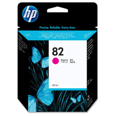Original HP 82, C4912A DesignJet Ink Cartridge - Magenta - 69ml