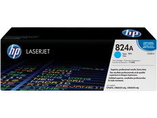 OEM HP CB381A, 824A Toner Cartridge For Color LaserJet CM6030 Cyan - 21K